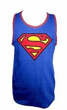 DC Comics Superman Logo Adult Blue T-shirt Tank Top