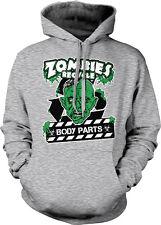 Zombies Recycle Body Parts Eat Brains Dead Walking Undead Kill Hoodie Sweatshirt