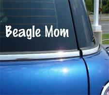 BEAGLE MOM DOG PET FUNNY DECAL STICKER ART CAR WALL DECOR