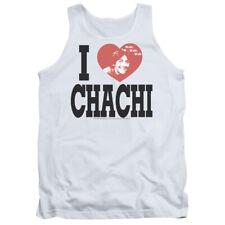 Happy Days Tanktop I Love Chachi White Tank