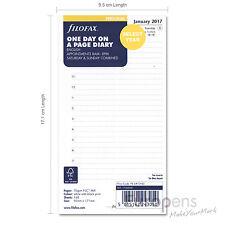 Filofax Personal size 2019 Day Per Page - Diary Refill Insert