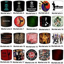 Arts Martiaux Designs Abat-jour Idéal Correspond À Autocollants Murales Stickers