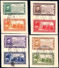 San Marino 1932 Garibaldi n. 168/175 Usati Certificato