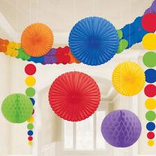 Girlanden Wabenball Lampion Fächer Honeycomb Wabendeko Party Raum Dekoration