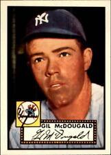 1983 Topps 1952 Reprint New York Yankees Baseball Card #372 Gil McDougald