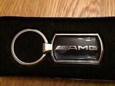 AMG METALLIC CHROME CHUNKY KEY RING, AMG KEYRING, AMG, GIFT IDEA