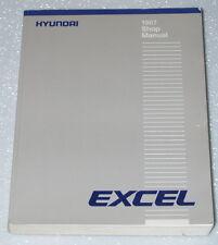 1987 HYUNDAI EXCEL GS GL GLS Sedan Hatchback Factory Shop Service Repair Manual