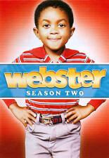 Webster : Season 2 SET OF 4 DVD'S BRAND NEW! EMMANUEL LEWIS ALEX KARRAS