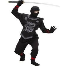 Ninja Kostüm Ninjakostüm Samurai Kinder Größen 128, 140, 158 edle Ausführung