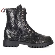 Saignées Gothic Victorian Steampunk Punk Bottes 8-eye Brocade boots