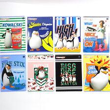 I Pinguini di Madagascar-GRAFIA esercizio LIBRO A5 3 Foderato 16 pagine. zeszyt
