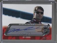 2010 Press Pass Track Edition Autographs Autographed #JEGO Jeff Gordon Auto Card
