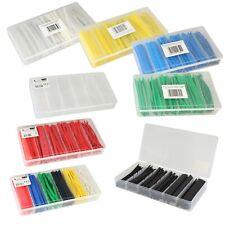 100 tlg SET Schrumpfschlauch Sortiment - verschiedene Farben - Schrumpfschläuche