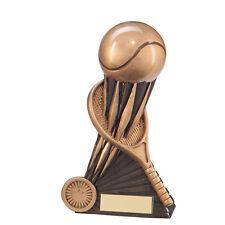 Resina atomica Tennis trofei Palla da Tennis Awards 2 Taglie INCISIONE GRATUITA