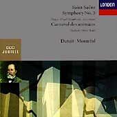 Saint-Saens: Symphony No. 3 / Carnaval des Animaux, , Good Import