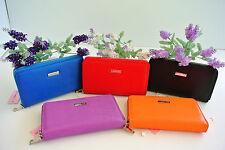 Women Fashion Artificial Leather Wallet Zip Around Case Purse Wallet clutch bag