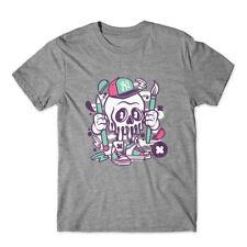 Skull T-Shirt 100% Cotton Premium Tee New