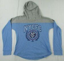 New York City Football Club MLS adidas Youth Girl's Lightweight Hoodie