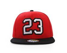 #23 ROUGE ET NOIR BASKETBALL LEGEND Casquette Baseball