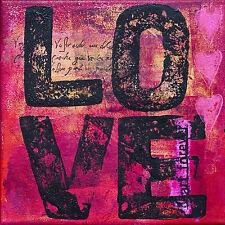 Sticker boite aux lettres déco Love 30x30cm réf 540