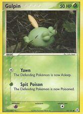 "Carte Pokemon "" GULPIN "" Base LEGENDES OUBLIEES HP 50 62/101 VO Anglais"