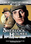 Sherlock Holmes Cinema (DVD, 2008) 10 Movies on 3 CDs Basil Rathbone