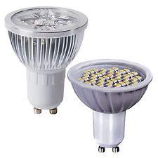 GU10 LED Bulb 3W SMD & 4W High Power Light Replace 35w -50w Halogen Reflector
