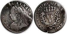 LOUIS XV 1/20 D ECU AUX BRANCHE D OLIVIER 1730 W LILLE TB RARE