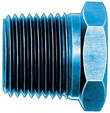 "Aeroquip FCM5142 Pipe Bushing 3/4"" Pipe x 1/2"" Pipe Black Anodized"