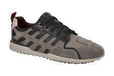 Geox Respira Sport Snake 2 Herren Sneakers Halbschuhe U948DA Stone / Black