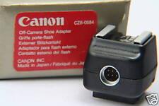 Canon externo TTL relámpago contacto para eos relámpago dispositivos
