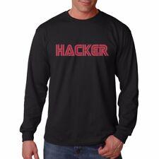 Hacker Mr Robot ANONIMO Nero T-shirt di cotone fn9308