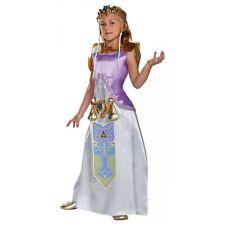 Princess Zelda Costume Kids Legend of Zelda Halloween Fancy Dress