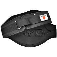 Senshi Weight Lifting Belt Fitness Gym Bodybuilding Deadlift Lumbar Support
