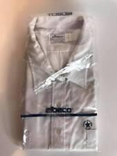 NEW Men's White Short Sleeve Elbeco Wings Officer Guard Uniform Shirt (R46)