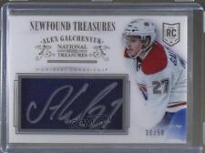 2013-14 Panini National Treasures #NT-AG Alex Galchenyuk Montreal Canadiens Auto