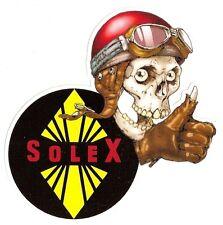 Sticker SOLEX right skull droit