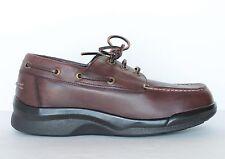 Aetrex Ambulator B2800 Mens Orthotic Boat Shoes Brown - Size 8, 9, 10 X Wide