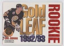 1993-94 Leaf Gold Rookie #2 Joe Juneau Boston Bruins Hockey Card