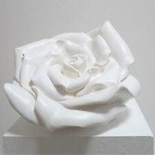Rose, Riesen Rosenblüte Big Rose Blossom, Plastic sculpture by Ottmar Hörl