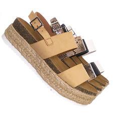 b84ef2408ce Wedge Espadrilles Synthetic Sandals & Flip Flops for Women | eBay