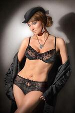 """Softschalen Bügel- BH Set von Benefit Modell """"Roxy"""" schwarz-grau .Neu"""
