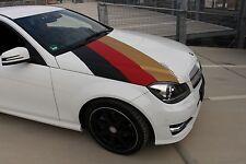 (8,77€/m²) PREMIUM WM Auto Folie Deutschland Flagge Aufkleber Fahne GANZE AUTO