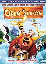 Open Season (Full Screen Special Edition),New DVD, Martin Lawrence, Ashton Kutch