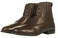 Schuhe Reitschuhe Jodhpurstiefel Reißverschluss hinten braun HKM Profi 5516 NEU