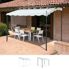 Gazebo 3x2 metri giardino acciaio ingresso bar hotel PERGOLA