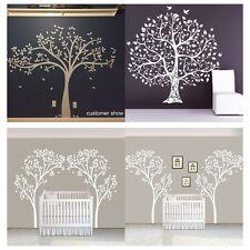 White Tree Wall Sticker Inspired Vinyl Nursery Bedroom Home Removable Art Decor
