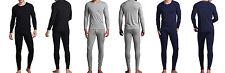 Men's Heavy Weight Fleece Thermal Top & Bottom Set Underwear S-3XL