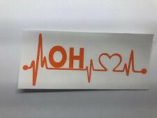 Emergency 911 Dispatcher Heartbeat Lifeline Vinyl Vehicle Window