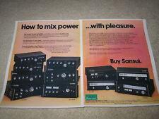 SANSUI AD, 1977, au-20000, 11000,7900,9900,tu-9900, 2pg